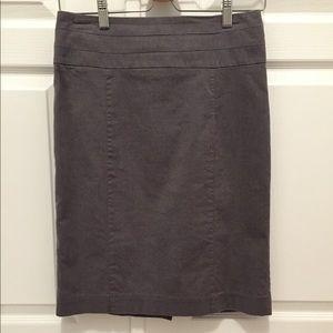 H&M grey pencil skirt - Size 8
